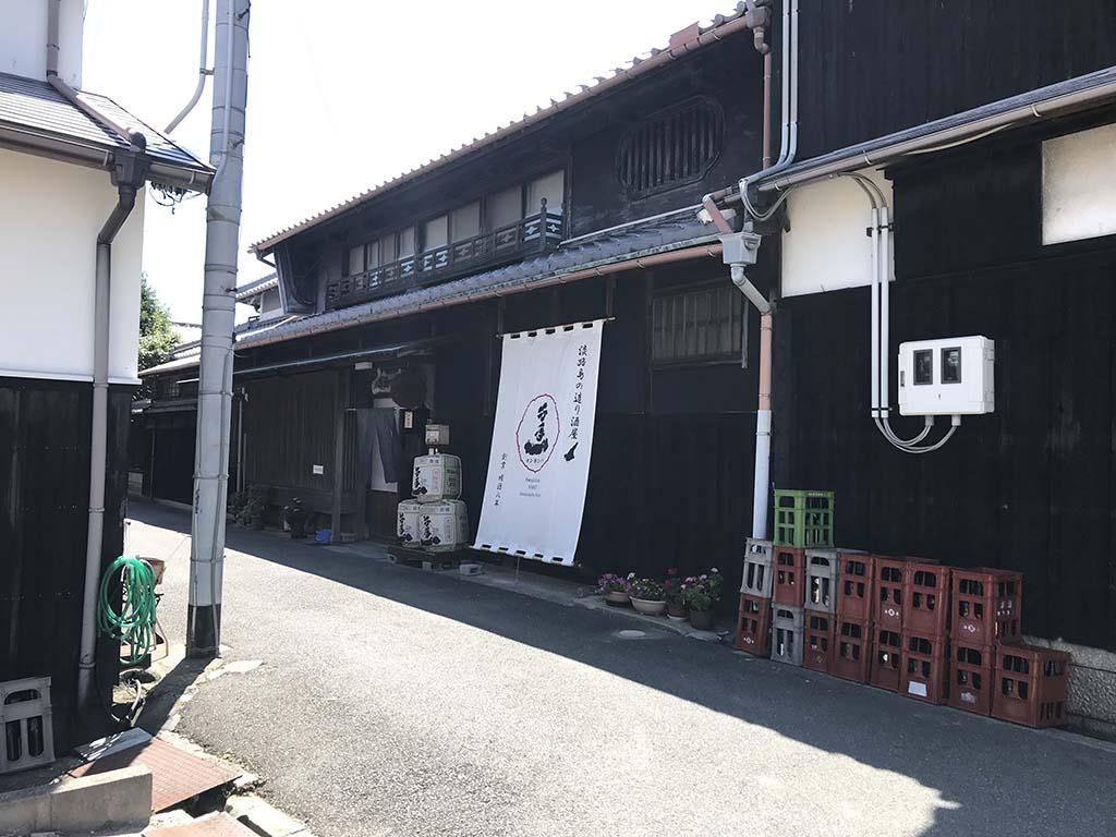 淡路島の酒蔵 千年一酒造 外観1