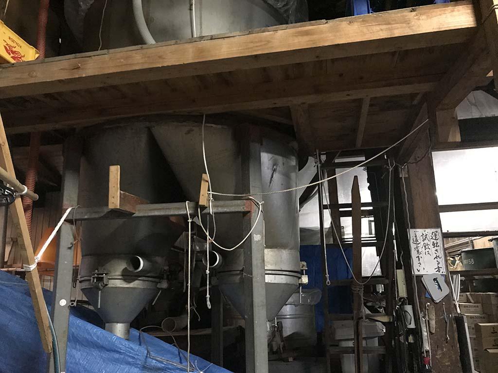 淡路島の酒蔵 千年一酒造 酒蔵見学 設備