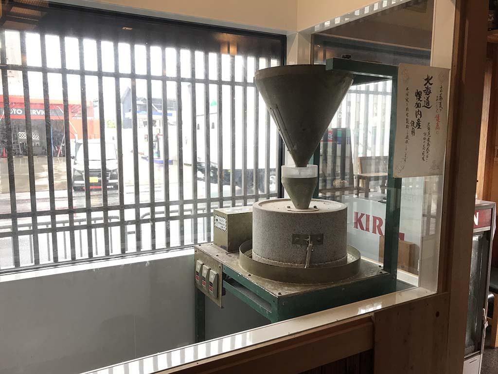 石挽そば丸中(まるなか)淡路島 店内3