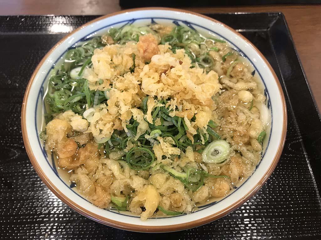 丸亀製麺南あわじ店 かけうどん1