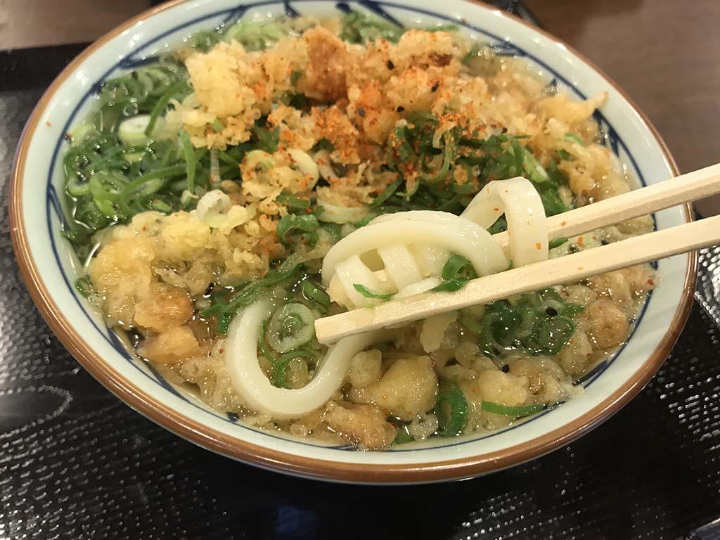 丸亀製麺南あわじ店 かけうどん3